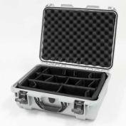 "Nanuk 930 Case w/Padded Divider, 19-13/16""L x 16""W x7-5/8""H, Silver"