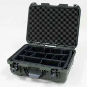 "Nanuk 930 Case w/Padded Divider, 19-13/16""L x 16""W x7-5/8""H, Olive"