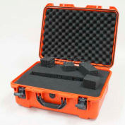 "Nanuk 940 Case w/Foam, 21-11/16""L x 16-7/8""W x 8-1/2""H, Orange"