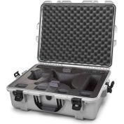"Nanuk 945 Waterproof DJI Phantom 4 Hard Case 945-DJI45 w/Foam 25-1/8""L x 19-7/8""W x 8-13/16""H Silver"