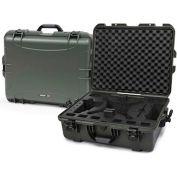 "Nanuk 945 Series DJI Phantom 3 Case 945-DJI6 with Foam Insert 25-1/8""L x 19-7/8""W x 8-13/16""H Olive"