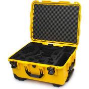 """Nanuk 950 Ser. DJI Phantom 3 Wheeled Case 950-DJI4 w/ Foam Ins. 22-13/16""""x18-5/16""""x11-11/16"""" Yellow"""