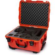 """Nanuk 950 Waterproof DJI Phantom 4 Hard Case 950-DJI43 w/Foam 22-13/16""""Lx18-5/16""""Wx11-11/16""""H Orange"""