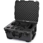 """Nanuk 950 Waterproof DJI Phantom 4 Case 950-DJI47 w/Foam 22-13/16""""Lx18-5/16""""Wx11-11/16""""H Graphite"""
