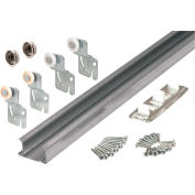 "Primeline Products 161793 Bi-Pass Closet Track Kit, 72""  2 Door Hardware Pk"