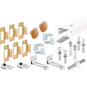 "Primeline Products 161797 Bi-Fold Closet Track Kit, 72""  4 Door Hardware Pk"