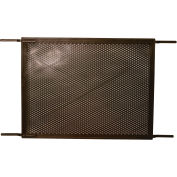 "Prime-Line PL 15516 - Screen & Storm Door Grille, 34-1/2"", Plastic, Bronze"