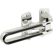 Primeline Products S 4743 Swing Bar Door Lock, Chrome Finish, Bumper Guard Edges