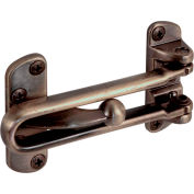 Prime-Line® Swing Bar Door Guard, U 9899, Antique Brass