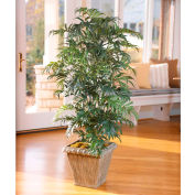 OfficeScapesDirect 4.5' Parlor Palm Silk Plant