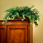 OfficeScapesDirect Palm & Ivy Armoire Topper Silk Plant