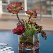 OfficeScapesDirect Succulent Silk Plant