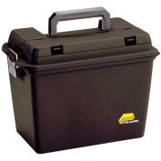"""Plano Molding 1812-96 Field Box  - Extra Large With Tray, No Gasket 17""""L x 10-3/8""""W x 13""""H, Black - Pkg Qty 2"""