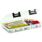 "Plano ProLatch™ StowAway® Utility Box Open Compartment 10-3/4""L x 7-1/4""W x 1-3/4""H Clear - Pkg Qty 6"