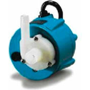 Little Giant 501203 1-42 Small Submersible Pump - Dual Purpose- 115V- 205 GPH At 1'