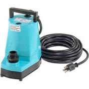 Little Giant 505025 5-MSP Submersible Utility Pump with 25' Cord
