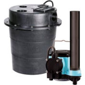 """Little Giant 506055 WRS Series 1/3HP Water Removal System - 115V- Integral- 7-10"""" On Level"""