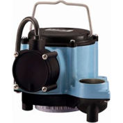 Little Giant 508057 8 Series Manual Operation Submersible Sump Pump - 10'L Cord