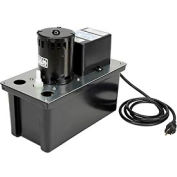 Little Giant® Condensate Removal Pump VCL-24ULS, Automatic, 115V, 270 GPH At 1'