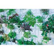 "Palram, PlantScape Stone Vertical Garden, HG2102, 22.5""L x 20.5""W, White"