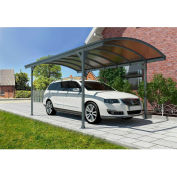 Vitoria™ HG9130 Carport - 16'L x 10'W Gray/Bronze