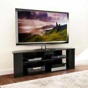 """Prepac Manufacturing Prepac Essentials 60"""" TV Stand In Black"""