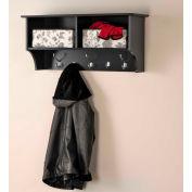 "Prepac Manufacturing Black 36"" Wide Hanging Entryway Shelf"