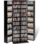 Prepac Manufacturing Black Grande Locking Media Storage Cabinet