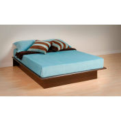 Prepac Manufacturing Espresso Full Platform Bed