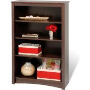 Prepac Manufacturing Espresso 4-Shelf Bookcase