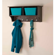 "Prepac Manufacturing Espresso 36"" Wide Hanging Entryway Shelf"