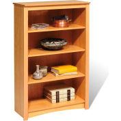 Prepac Manufacturing Maple 4-Shelf Bookcase
