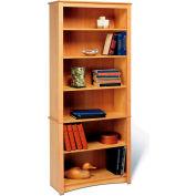 Prepac Manufacturing Maple 6-Shelf Bookcase