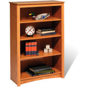 Prepac Manufacturing Oak 4-Shelf Bookcase