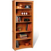Prepac Manufacturing Oak 6-Shelf Bookcase