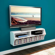 Prepac Manufacturing White Altus Wall Mounted Audio/Video Console