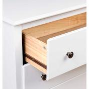 Prepac Manufacturing White Monterey Children's 6 Drawer Dresser