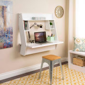 Prepac Manufacturing Studio Floating Desk White