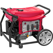 Powermate PMC145500.01, 5500 Watts, Portable Generator, Gasoline, Recoil Start, 120/240V