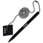 "PM® Preventa Antimicrobial Counter Pen, 24"" Ball Chain, Black Ink"