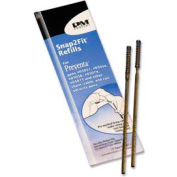 PM® Preventa Aluminum Counter Pen Refill, Medium, Black Ink, 2/Pack