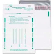"Quality Park® Night Deposit Bags, 10"" x 13"", Polyethylene, White, 100/Pack"