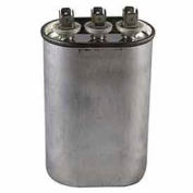 Dual Voltage 370/440 - Oval Run Capacitor - 15+10 Mfd