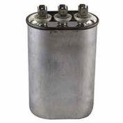 Dual Voltage 370/440 - Oval Run Capacitor - 25+10 Mfd