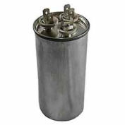 Dual Voltage 370/440 - Round Run Capacitor - 30+5 Mfd
