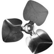 "Three Wing Condenser Fan Blade, Interchangeable Hub, Aluminum Blade, CCW, 22"" Dia., 30 ° Pitch"