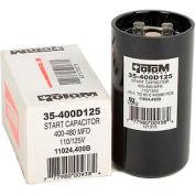 Rotom 400B, 400-480MFD, 110/125V, Start Capacitor, Round