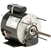 US Motors 4855, Shaded Pole & PSC, Unit Heater Fan, 1/3 HP, 1-Phase, 1075 RPM Motor