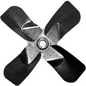 "Heavy Duty Four Wing Fan Blade, Galvanized Steel Props, 26"" Dia.,CW, 27° Pitch"