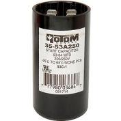 Rotom 53C-1, 53-64MFD, 220/250V, Start Capacitor, Round